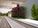 Szenerie im Modell: Bremen - Oberneuland